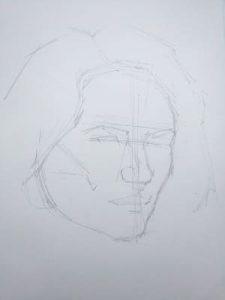 dibujar retrato